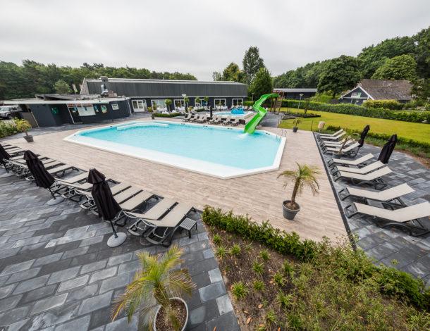 Hoogtefoto Zwembad Hardenberg