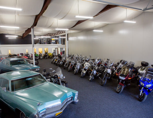 Showroom Motorservice Zweers