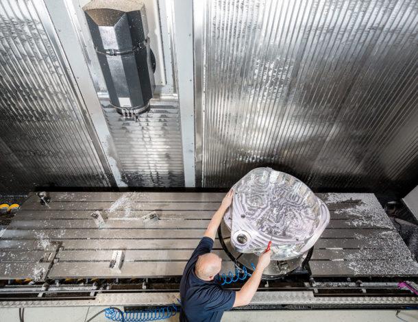 Ibarmia freesbank aluminium verspaning