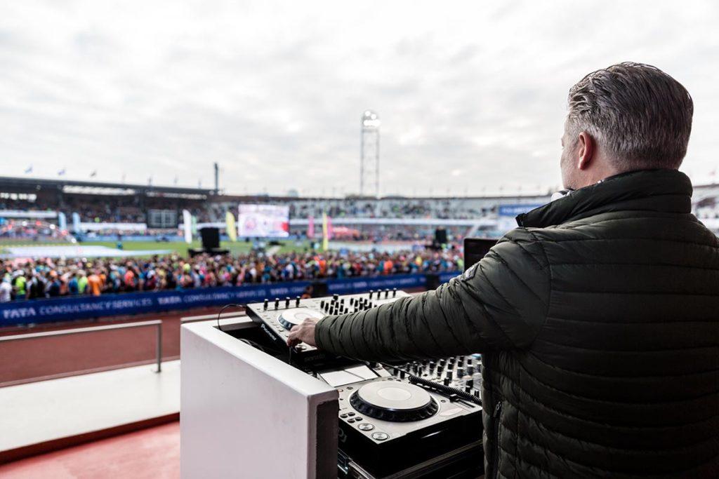 dj Olympisch stadion Amsterdam
