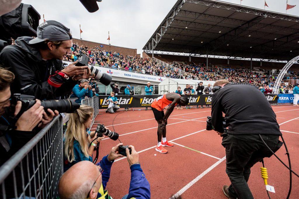 Winnaar Amsterdam marathon